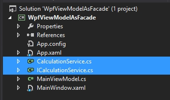 clean your viewmodel in WPF and create a facade