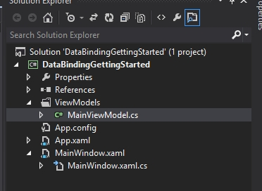 How to make first steps of Databinding in WPF · Offering