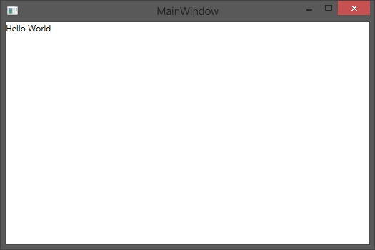 How to make first steps of Databinding in WPF