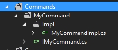 Correct implementation of Commands in WPF