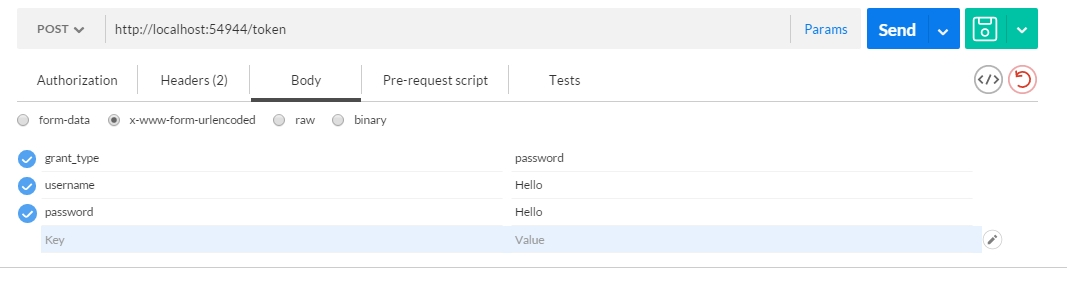 Token Authentication with Claims and ASP NET WebAPI
