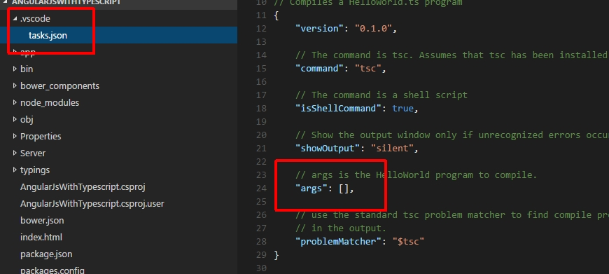 Getting started with Visual Studio Code, AngularJS and Typescript